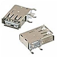 Гнездо USB-A-111 на плату