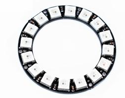 Кольцо управляемых светодиодов WS2812B 16 бит