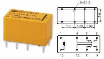 Реле 4078 5VDC  2A
