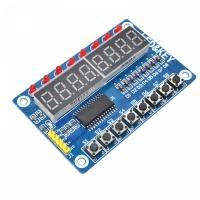 Модуль 7-сегментного индикатора + кнопки