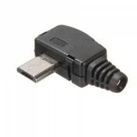 Штеккер micro USB угловой