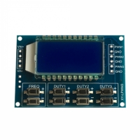 ШИМ-генератор ЖК-дисплей 3 канала