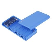 PowerBank для 6 Li-Ion пластик синий