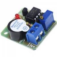 Сигнализатор разряда аккумулятора 12В