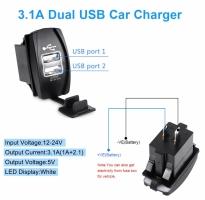 Зарядное устройство USB прямоугольное
